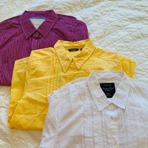 3 pieces American Eagle women's blouses size M